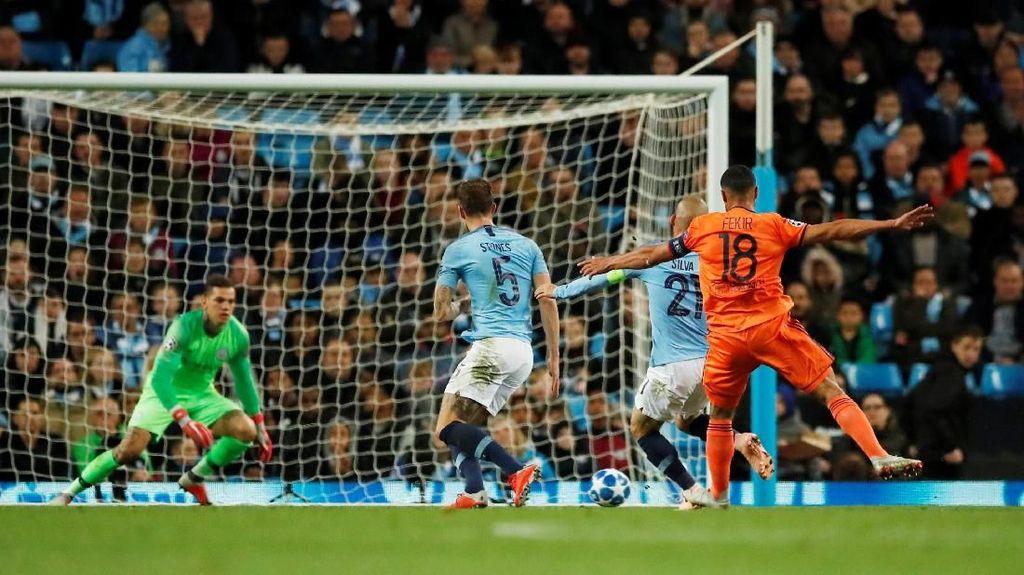 Hasil Liga Champions: Manchester City Dikalahkan Lyon di Etihad