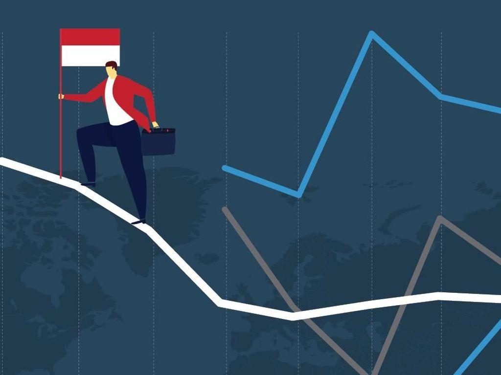 Tiket Pesawat Mahal Sumbang Pertumbuhan Ekonomi RI Cuma 5,07%
