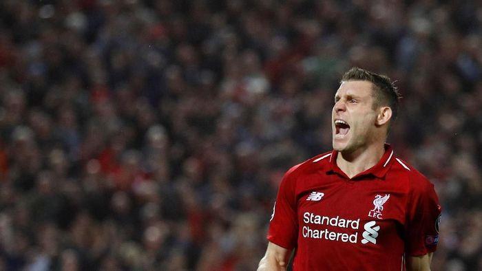 James Milner sudah anti Manchester United sejak kecil (Phil Noble/Reuters)