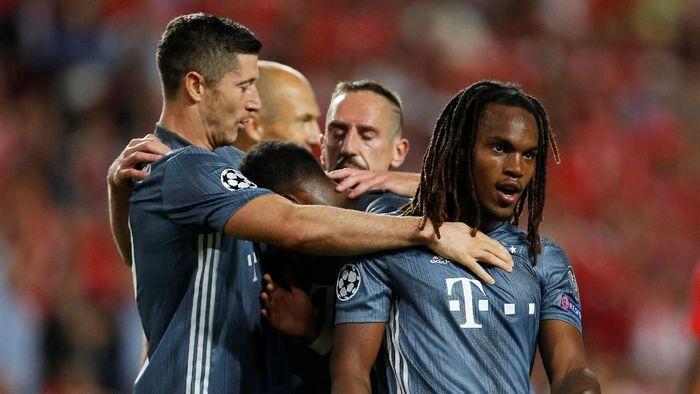 Bayern Munich menang 2-0 di kandang Benfica (Pedro Nunes/REUTERS)