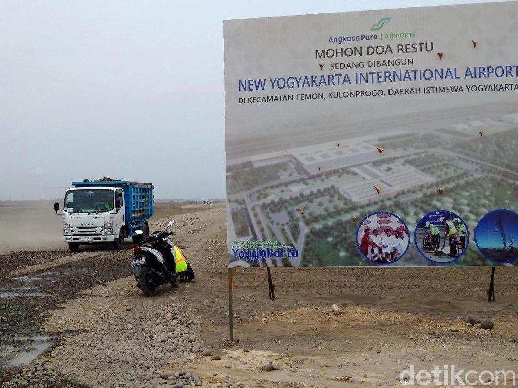 Bandara Kulon Progo Mulai Dibangun, Ini Penampakannya