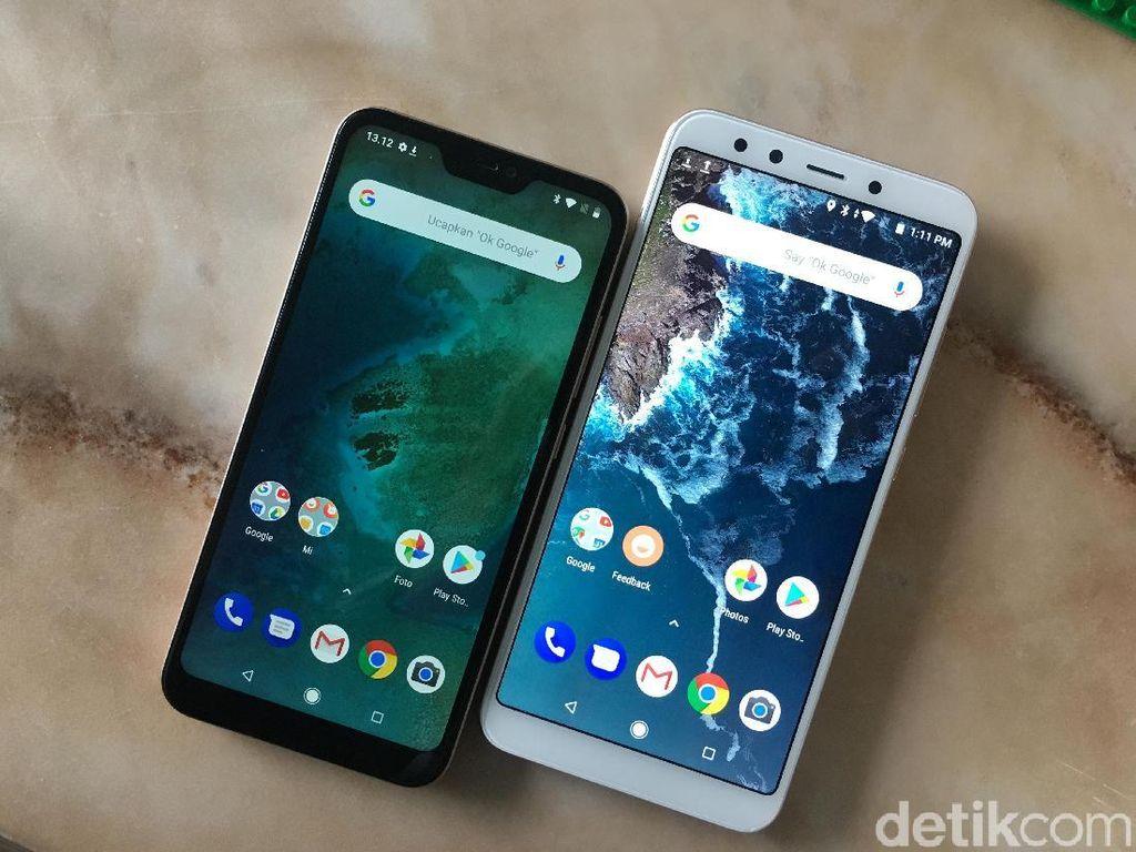 Xiaomi Bawa Mi A2 dan Mi A2 Lite ke Indonesia, Harganya?
