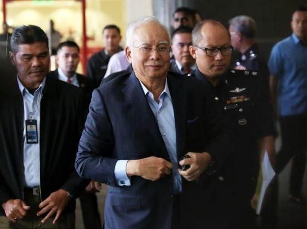 Najib Razak Akan Dijerat 21 Dakwaan Terkait Transfer Dana 1MDB