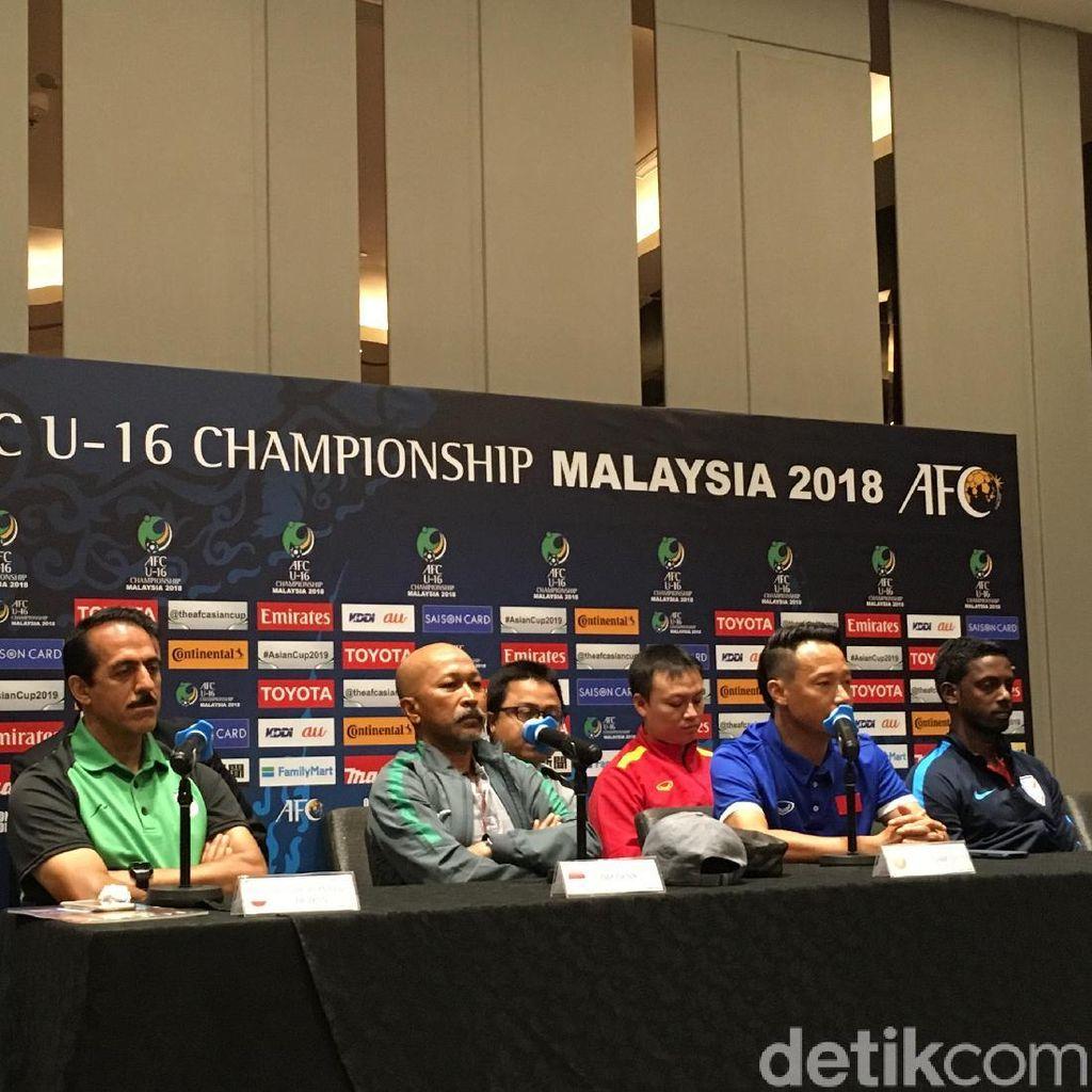 Target Timnas U-16 di Malaysia: Lolos Piala Dunia U-17 2019