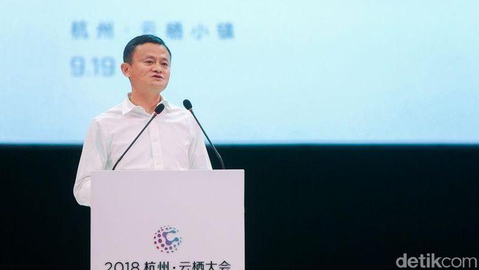 Jack Ma berencana untuk membangun sebuah institusi pendidikan untuk menggembleng para pengusaha bidang teknologi di Indonesia. Foto: Rachmatunnisa/detikcom