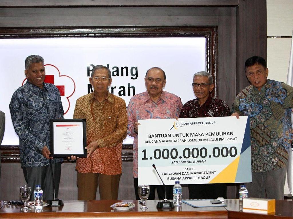 Donasi Rp 1M untuk Pemulihan Bencana Lombok