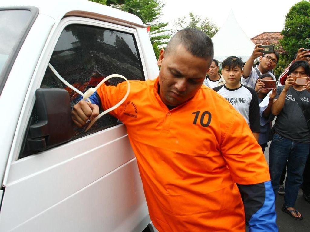 Duh! Richo Idol Diciduk Polisi karena Ketahuan Mencuri