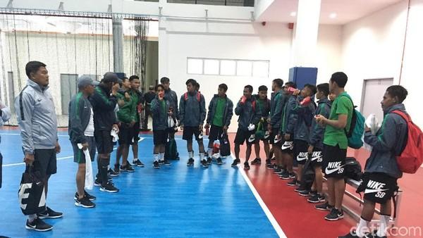 Timnas U-16 Jalani Latihan Jelang Hadapi Iran