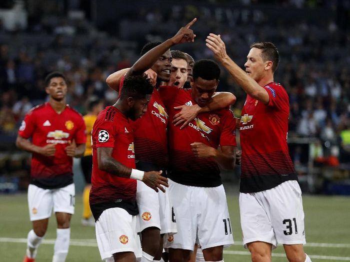 Manchester United menang besar dalam lawatan ke Young Boys di matchday pertama Liga Champions (Reuters/Matthew Childs)
