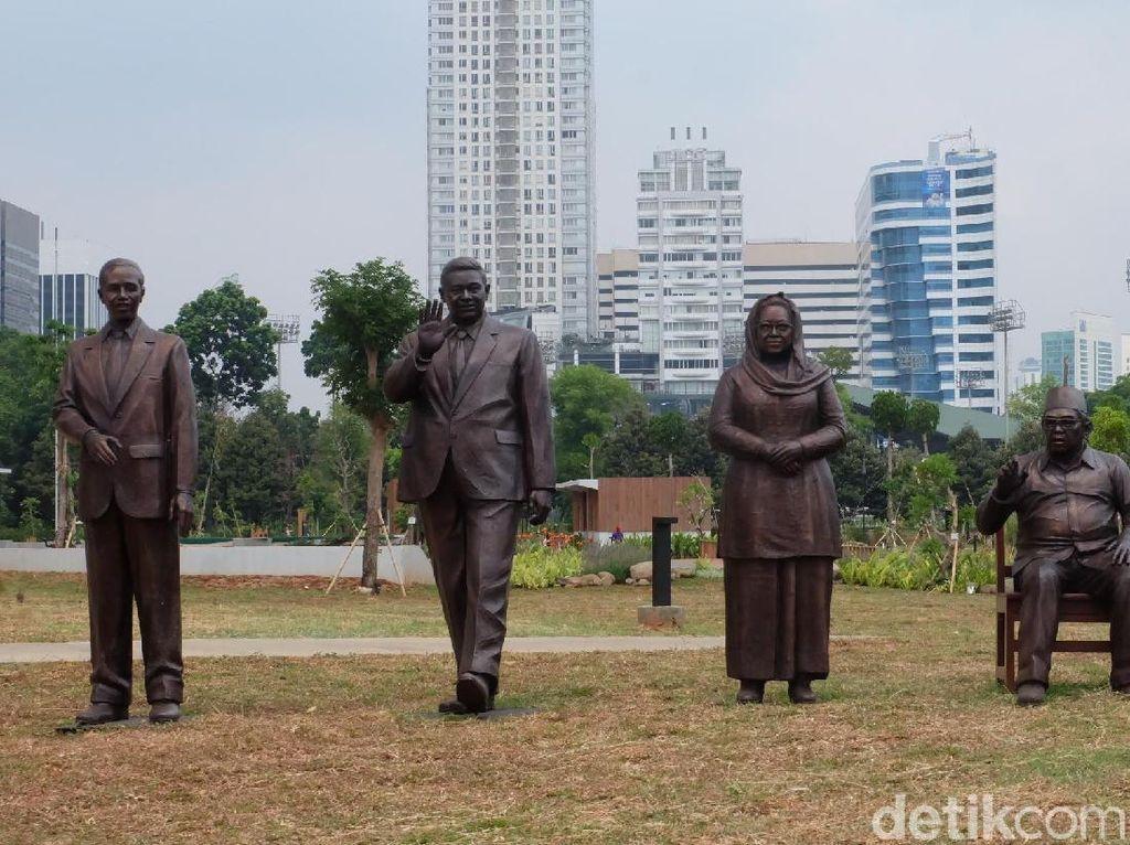 Ini Tantangan Tersulit Purjito Bikin Patung 7 Presiden