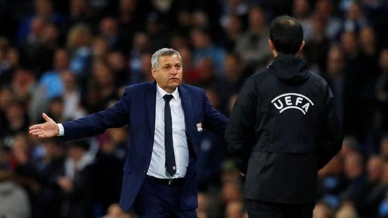 City Bikin Pelatih Lyon Ngeri-Ngeri Sedap di Babak Kedua