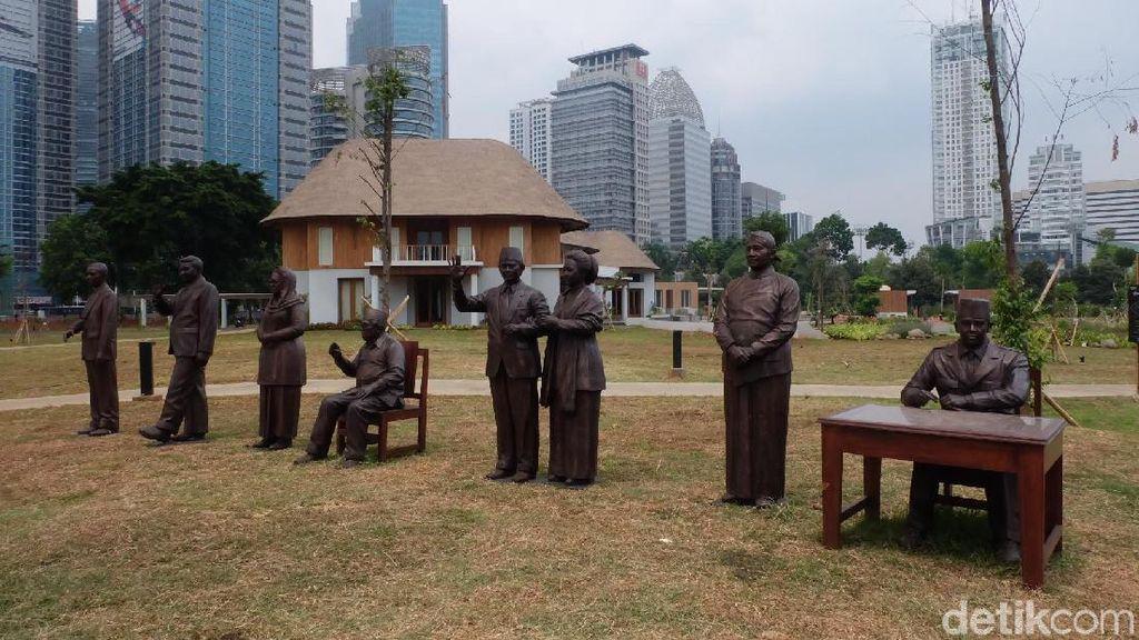 Susahnya Pematung Purjito Bikin Patung 7 Presiden Indonesia
