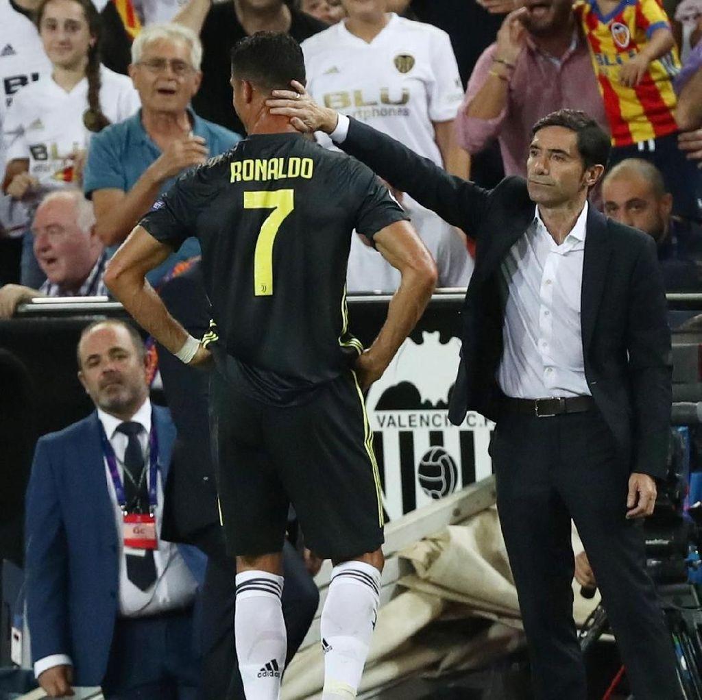 Dapat Kartu Merah Langsung, Berapa Lama Ronaldo Dihukum?