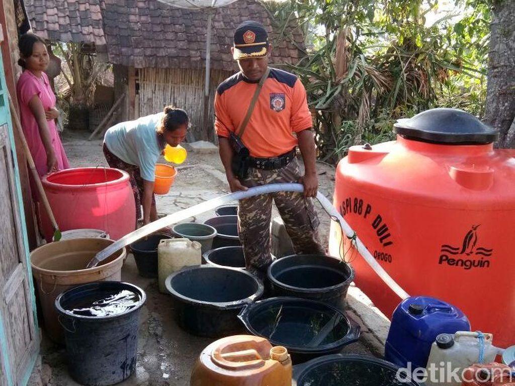 Musim Hujan Tiba, 11 Titik di 4 Kecamatan Ponorogo Masih Kekeringan