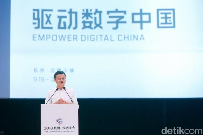 Jack Ma. Foto: Rachmatunnisa/detikcom