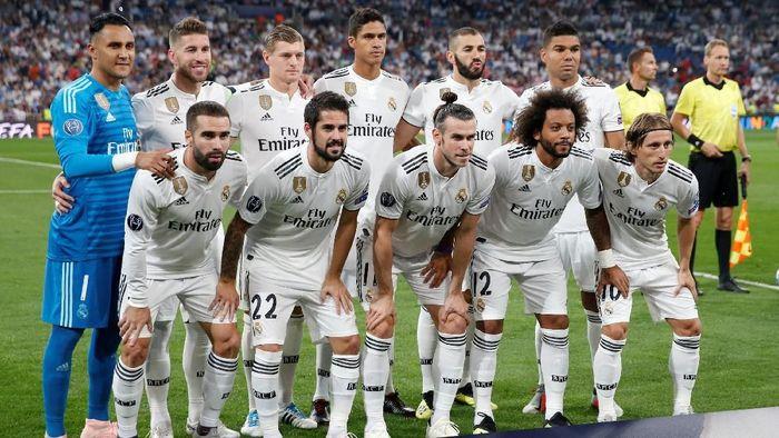 Real Madrid tidak membutuhkan pemain baru. (Foto: Juan Medina/Reuters)