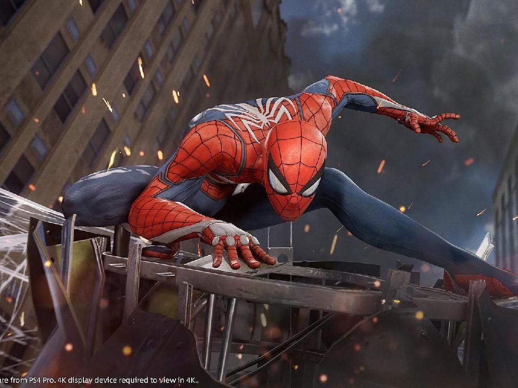 Game Spider-Man Salip God of War, Lampaui Film Homecoming