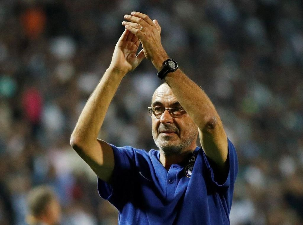 Sarri Mengejar Torehan Ancelotti dan Guardiola