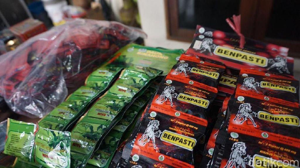 Penampakan Obat Kuat dan Jamu Ilegal Lain Senilai Rp 15,7M yang Disita BPOM