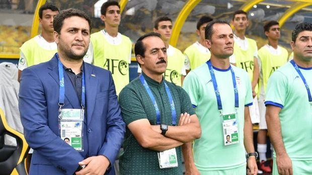 Pelatih Iran Abbas Chamanian menyalahkan hujan usai dikalahkan Timnas Indonesia U-16.
