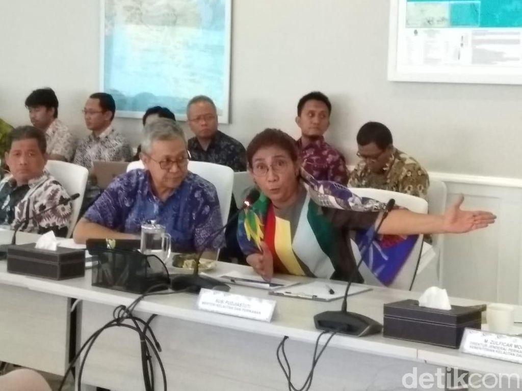 Susi Pamer Capaian Ekspor Ikan hingga Semester I-2018