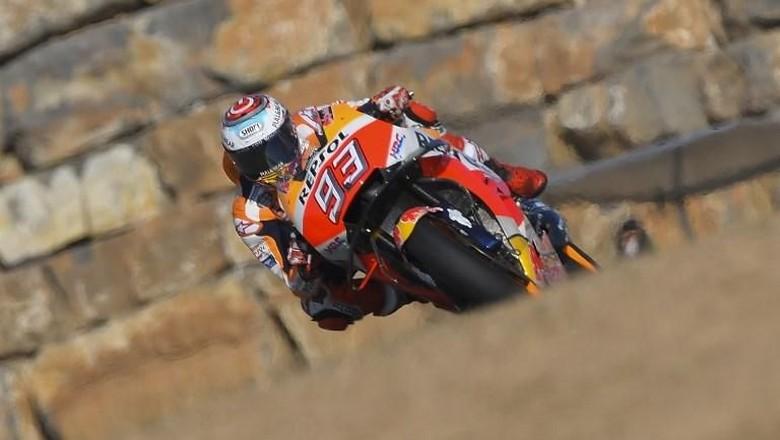 Hasil MotoGP Aragon 2018! Marquez Menang, Lorenzo Jatoh!