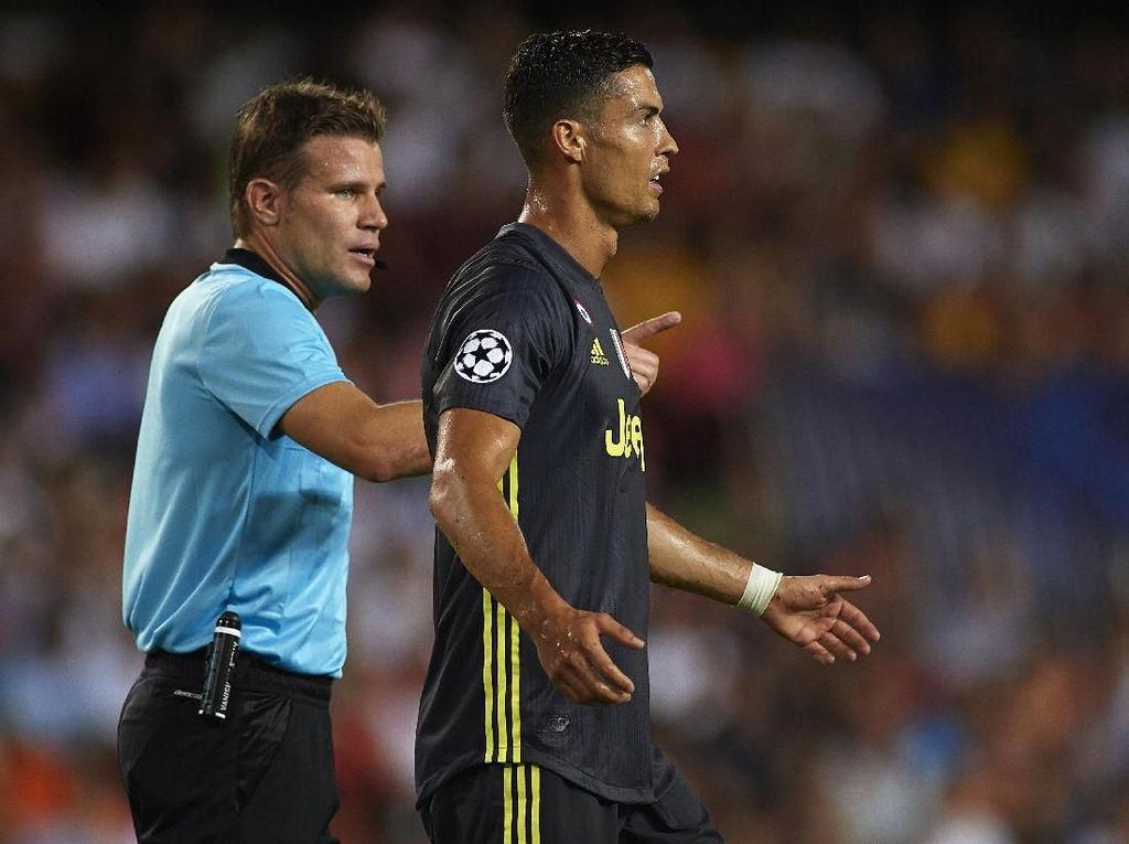 Kartu Merahnya Akan Diselidiki UEFA, Sanksi Ronaldo Bisa Bertambah