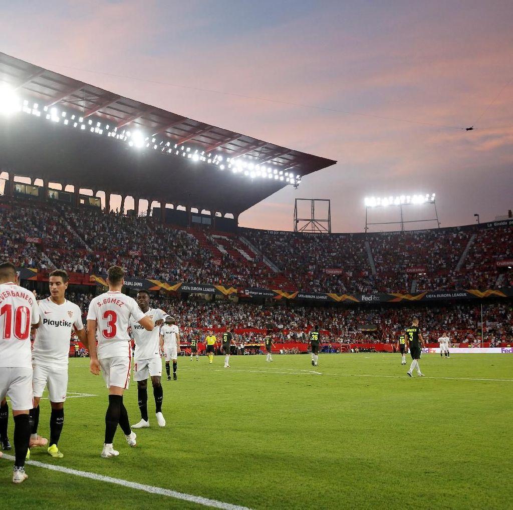 Hasil Liga Europa: Sevilla Menang Telak, Villarreal Diimbangi Rangers