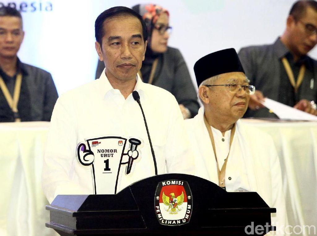 Jokowi-Maruf Intensif Kampanye Keliling Daerah Desember-Januari