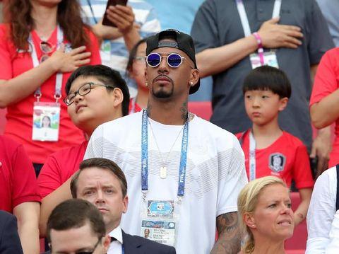 Jerome Boateng Geli, Dikritik Karena Kacamata Hitam