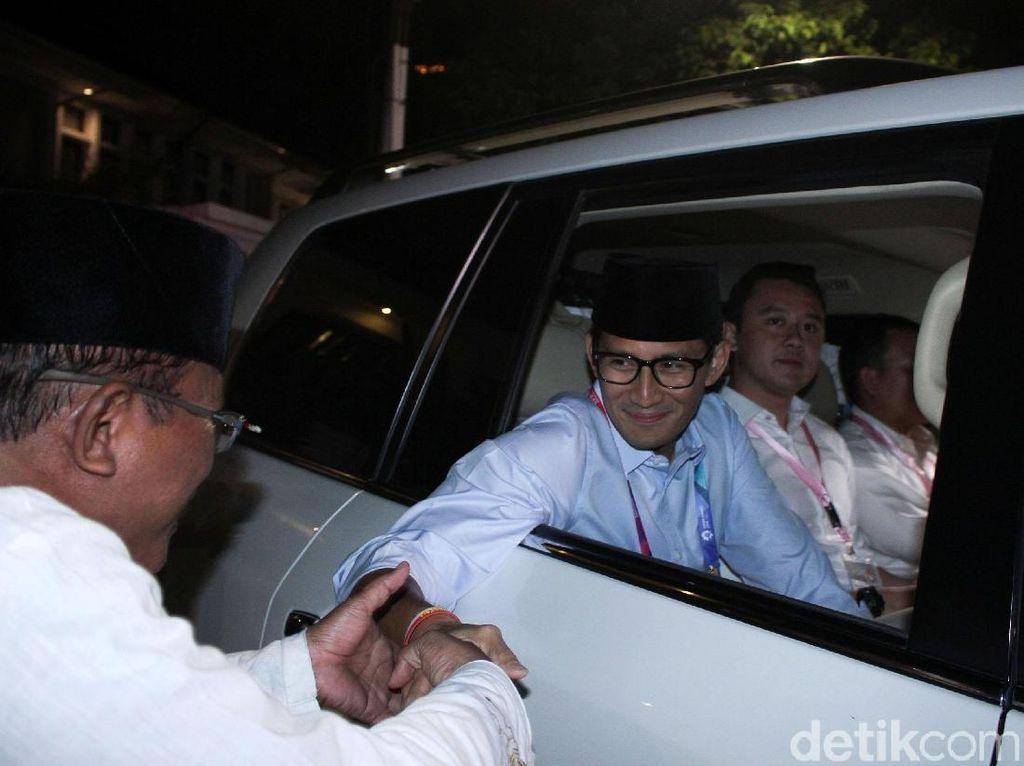 Kata Sandiaga tentang Keputusan Yenny Wahid Tak Gabung Timsesnya