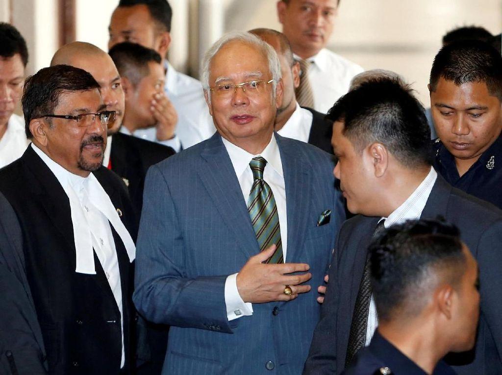 Najib Kembali Diperiksa Komisi Antikorupsi soal Proyek Tenaga Surya