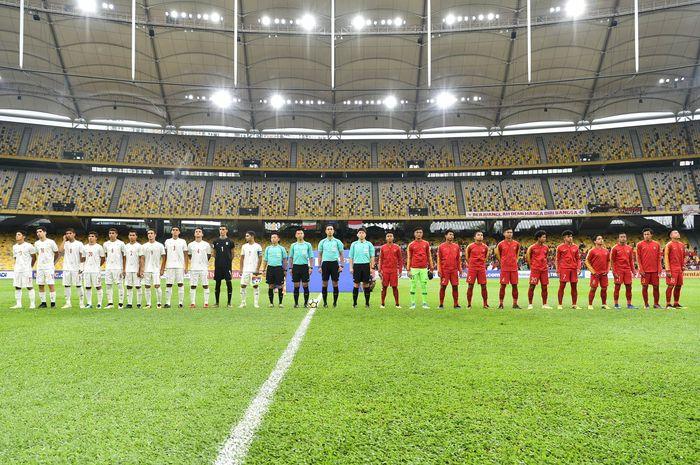 Laga antara Iran vs Indonesia digelar di Stadion Bukit Jalil, Kuala Lumpur, Jumat (21/9/2018) sore WIB. Istimewa/Adam Aidil.