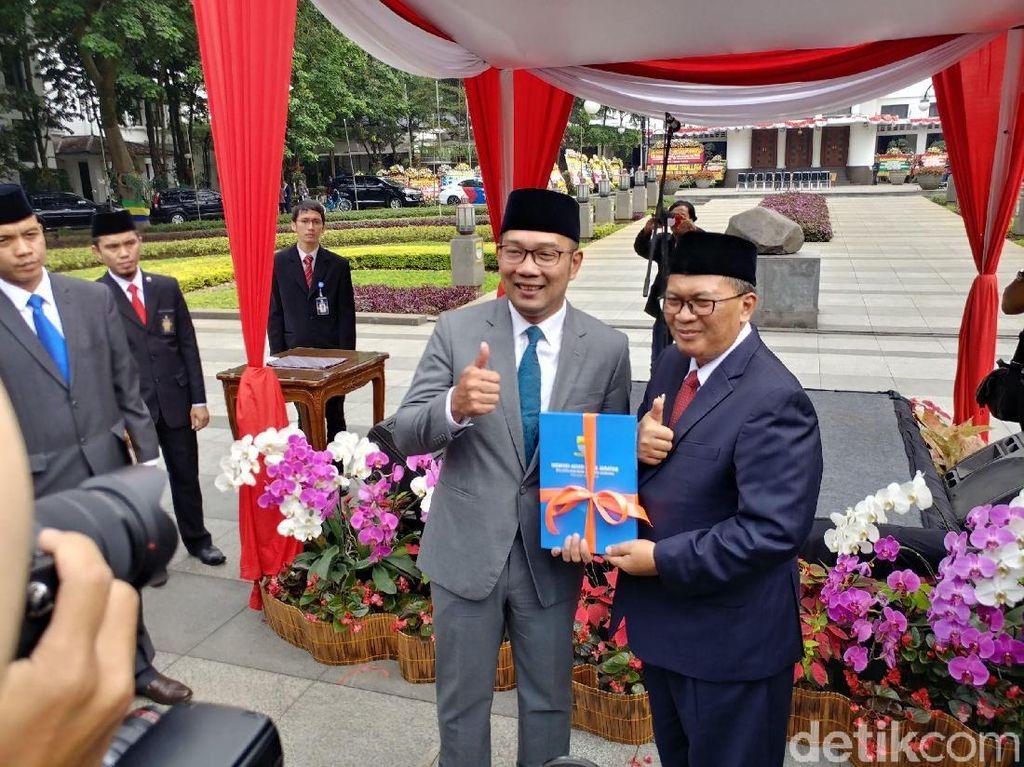 Ridwan Kamil ke Mang Oded: Semua akan Indah Pada Waktunya