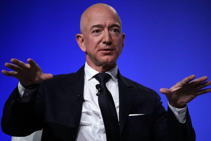 Jeff Bezos. Foto: Alex Wong/Getty Images