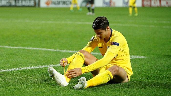 Alvaro Morata butuh gol untuk mengembalikan rasa percaya diri (Foto: John Sibley/Action Images via Reuters)