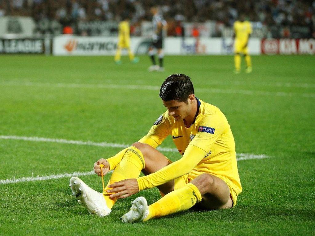Morata Butuh Gol untuk Kembalikan Kepercayaan Diri