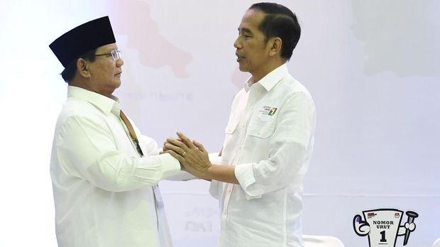 Dua kompetitor di Pilpres 2019, Prabowo dan Jokowi.