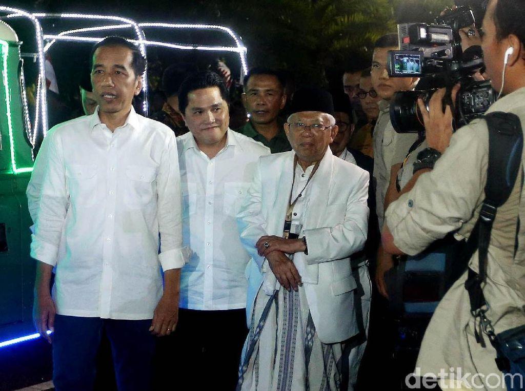 Jokowi-Maruf Prioritaskan Infrastruktur sampai Jaminan Sosial