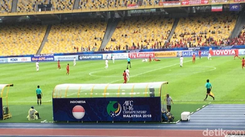 Gol Cepat Bagus Bawa Indonesia U-16 Ungguli Iran