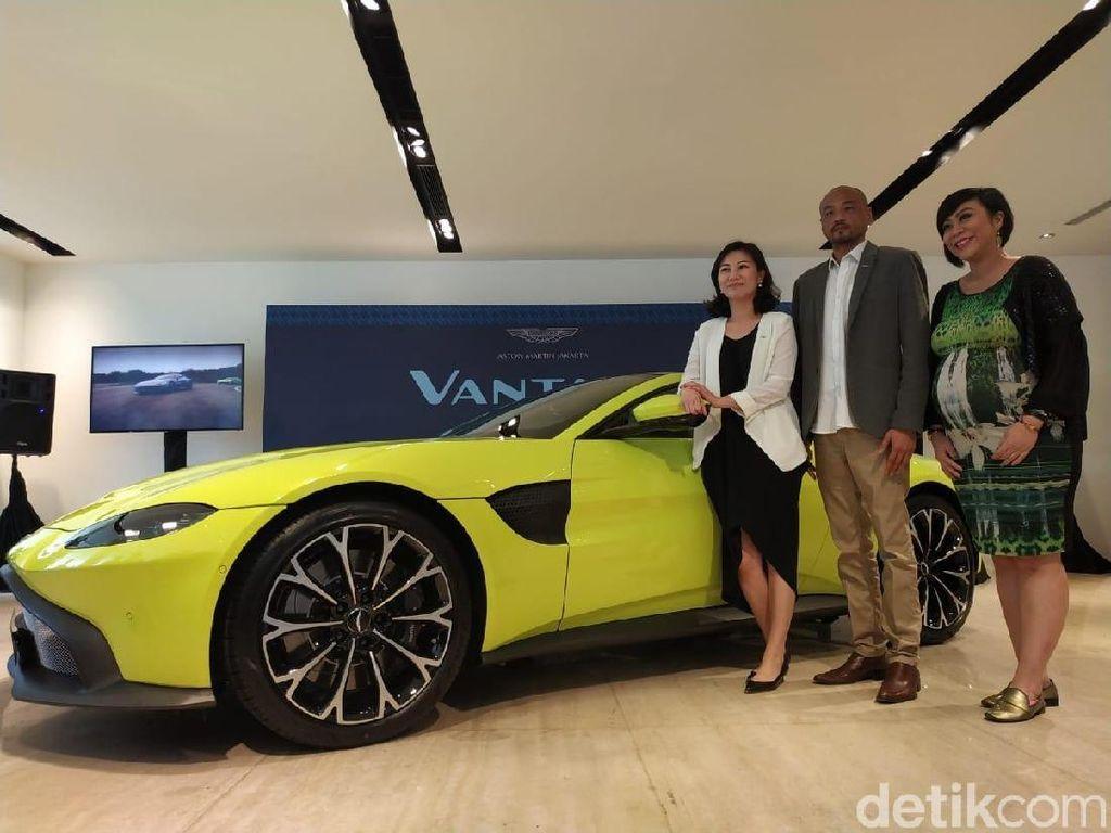 Aston Martin Vantage Meluncur di Jakarta, Harga di Atas Rp 5 Miliar