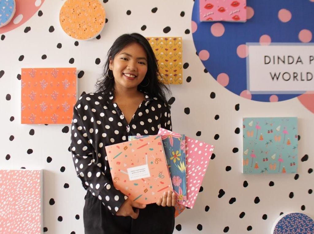 Kreasi Dinda Puspitasari di Buku World of Pattern
