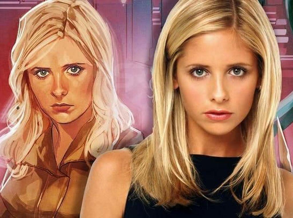 Drusilla Hadir di Sampul Kedua Komik Buffy the Vampire Slayer