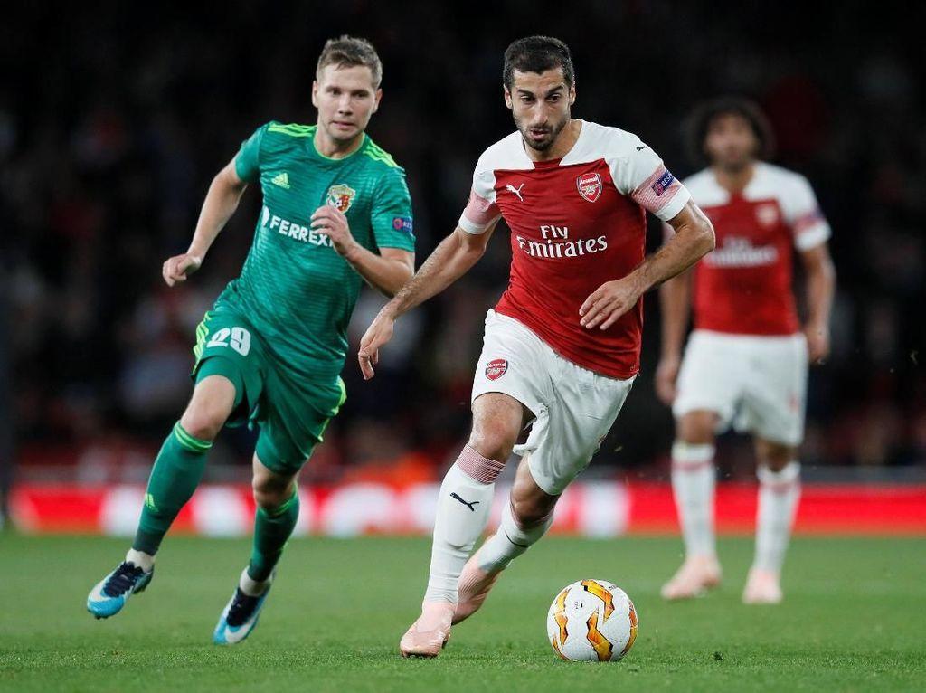 Bersama Emery sang Spesialis Liga Europa, Mkhitaryan Bidik Gelar Juara