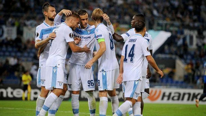 Lazio menang 2-1 atas Apollon di Liga Europa (Foto: Marco Rosi/Getty Images)
