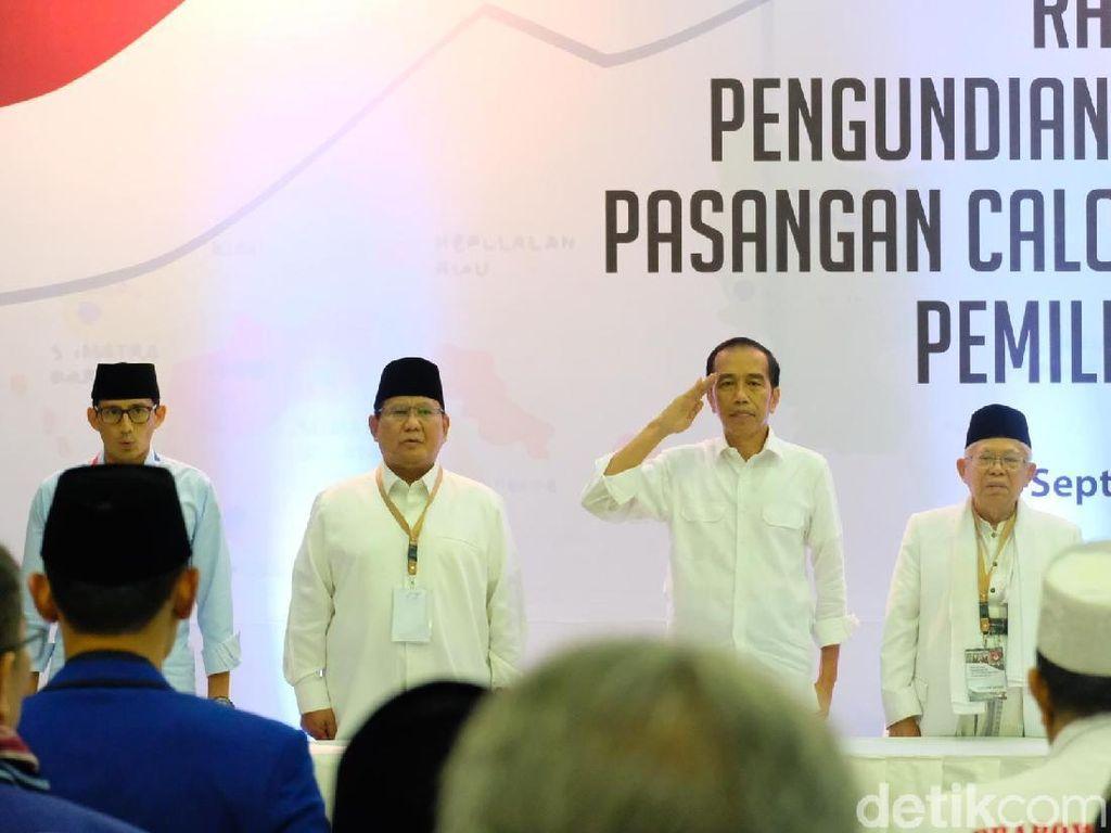 Rekapitulasi KPU: Jokowi Unggul di Vanimo-Paris, Prabowo di Damaskus-Istanbul
