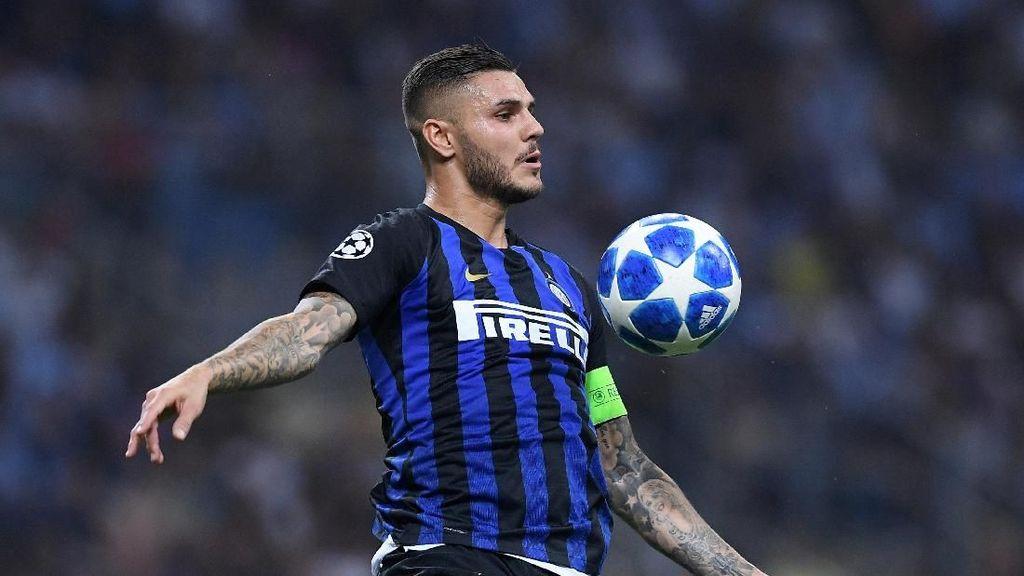Icardi dalam Tren Positif: Tajam Saat Inter Jadi Tuan Rumah Derby Milan
