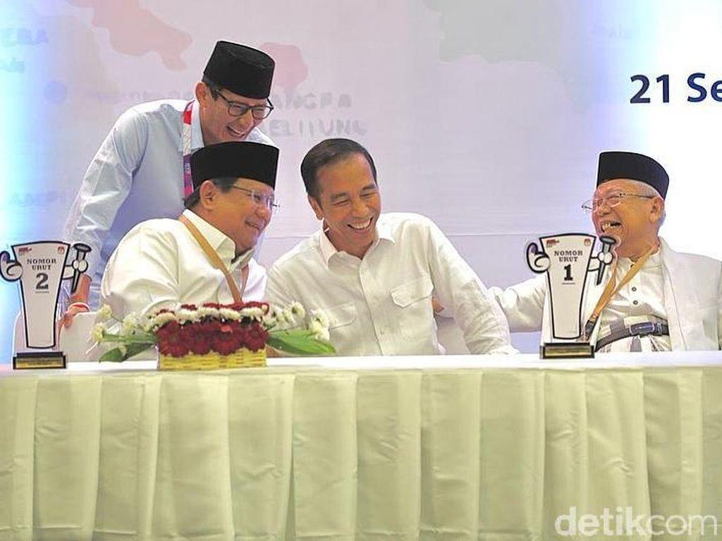 Gempa dan Kesepakatan Tim Jokowi dan Prabowo Setop Kampanye