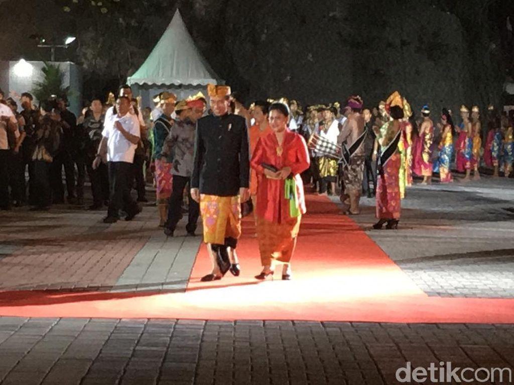 Jokowi Sebut Patung Garuda Wisnu Kencana Mahakarya yang Dikagumi Dunia