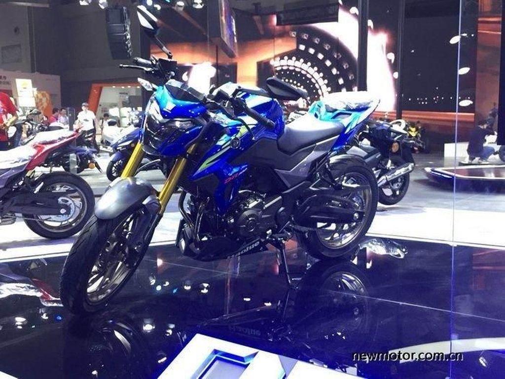 Penampakan Sport 300cc Terbaru Suzuki, Sudah Pakai Up Side Down